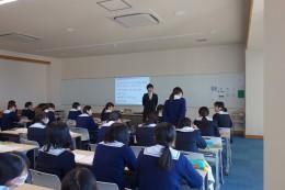 道徳出張講義(水戸女子高校)②