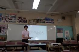 春日部市立葛飾中学校校内研修(江島顕一)