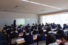 道徳出張講義(水戸女子高校)①